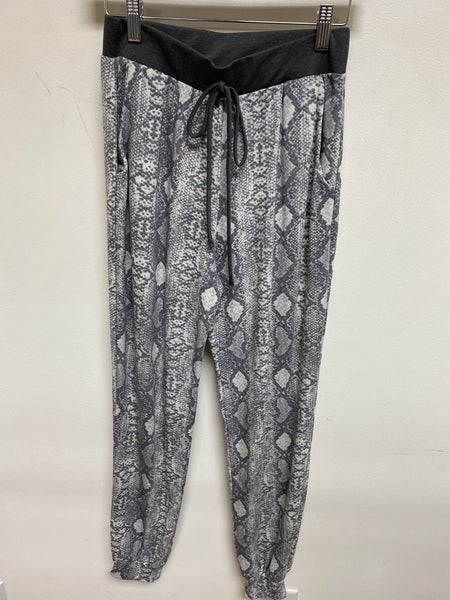 Grey Python Lounge Pant
