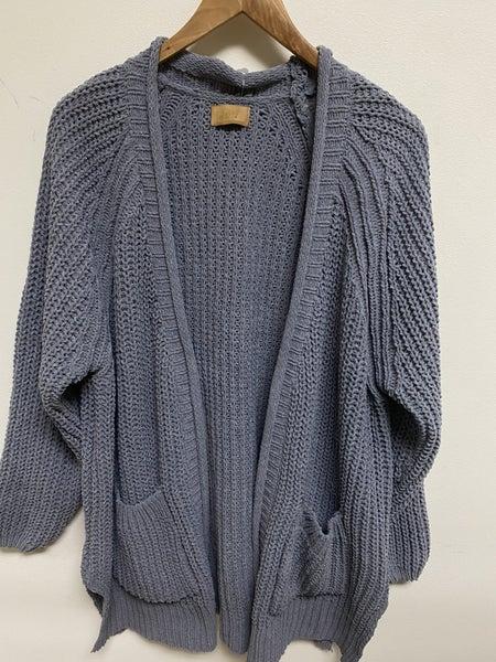 Chunky Knit Sweater Cardigan