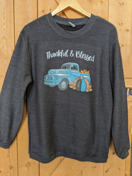 Thankful & Blessed Truck shirt