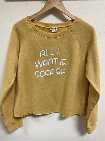 Reversible Crop Sweatshirt
