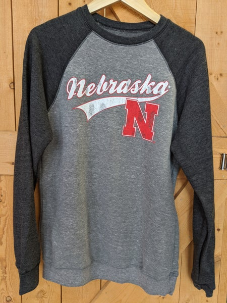 Baseball style Nebraska sweater