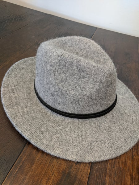 wool floppy brim hat