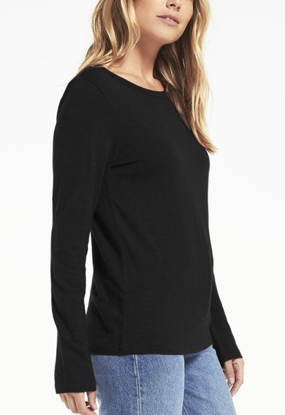 Everyday Brushed Long Sleeve Top