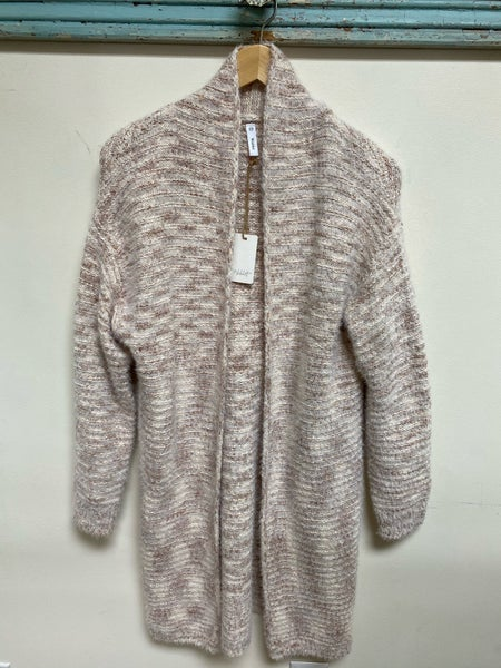 Heathered Tan Cardigan