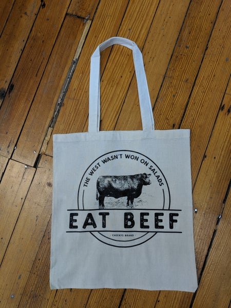 Eat beef tote