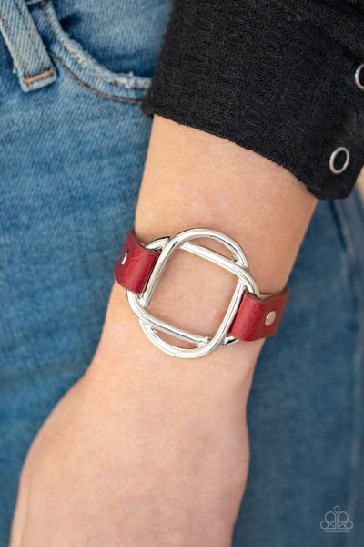 Nautically Knotted - Red