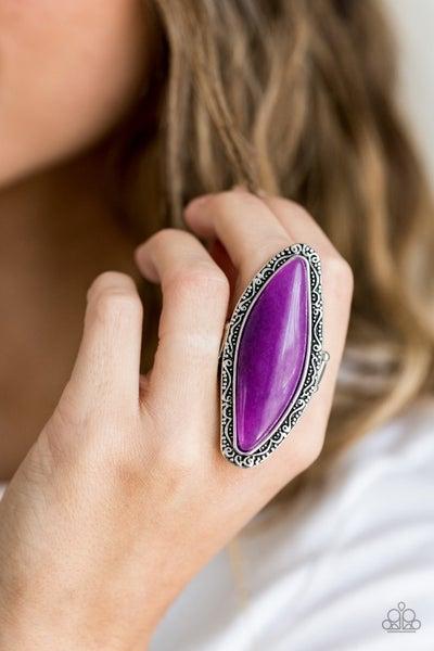 Mineral Mine - Purple