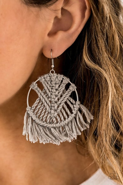 All About Macrame - Silver