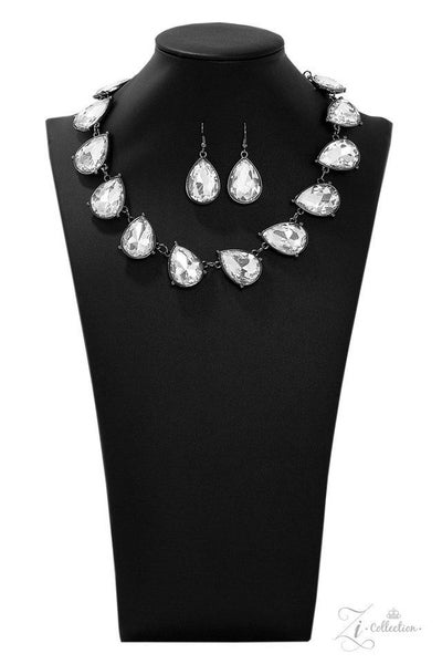 Paparazzi Mystique - Exclusive Zi Collection - 2019 Necklace and matching Earrings