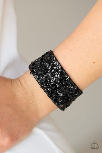 Starry Sequins - Black