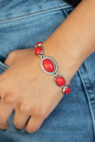 Serene Stonework - Red