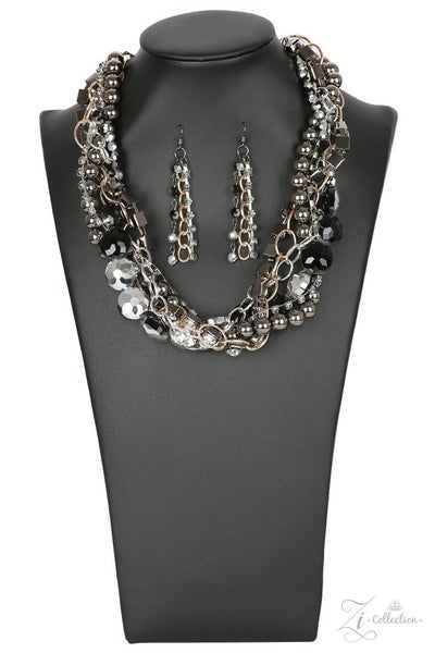 Paparazzi Unapologetic - Zi Collection - Necklace and matching Earrings