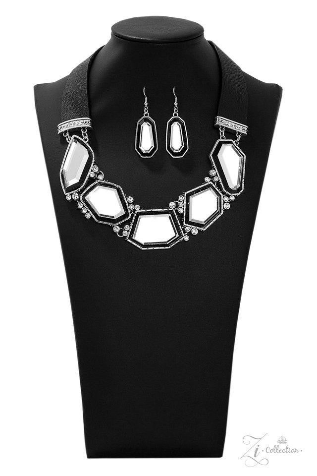 Paparazzi Rivalry - Exclusive Zi Collection - 2019 Necklace and matching Earrings