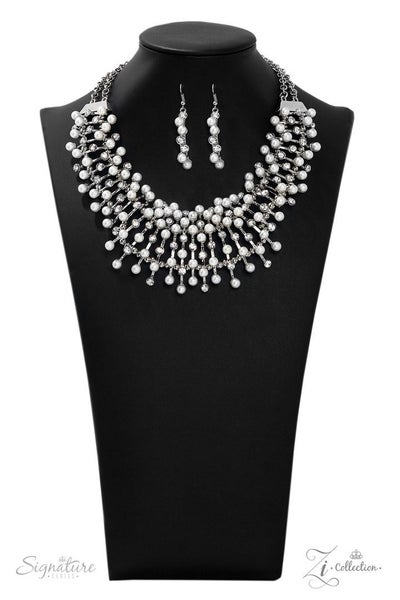 Paparazzi The Leanne - 2019 Zi Collection - Necklace and matching Earrings