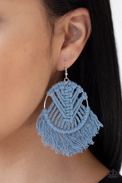 All About MACRAME - Blue