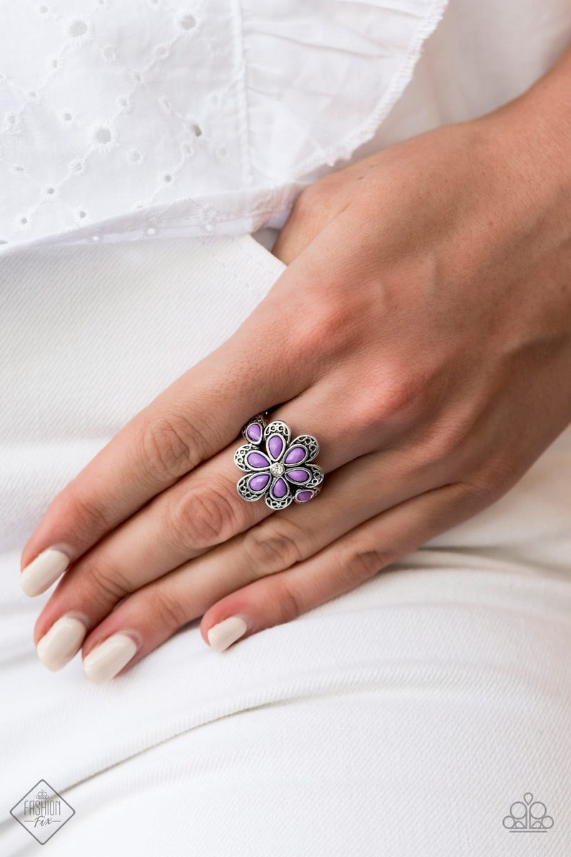 Fruity Florals - Purple