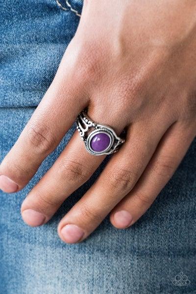 Peacefully Peaceful - Purple