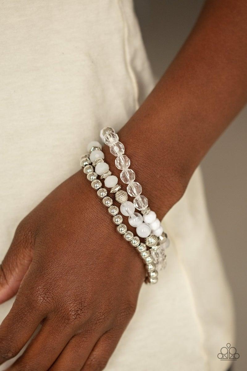 Sugary Shimmer - White