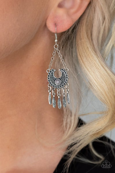 Fabulously Feathered - Silver