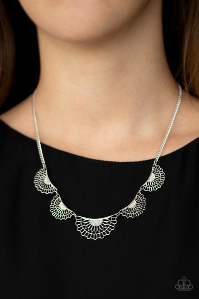 Fanned Out Fashion - Silver
