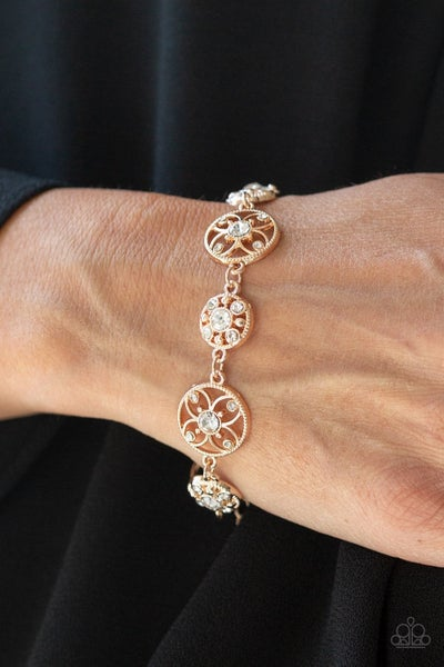 Flowery Fashion - Rose Gold