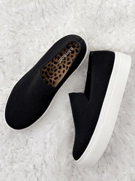 Black BamBoo Slip on Shoe