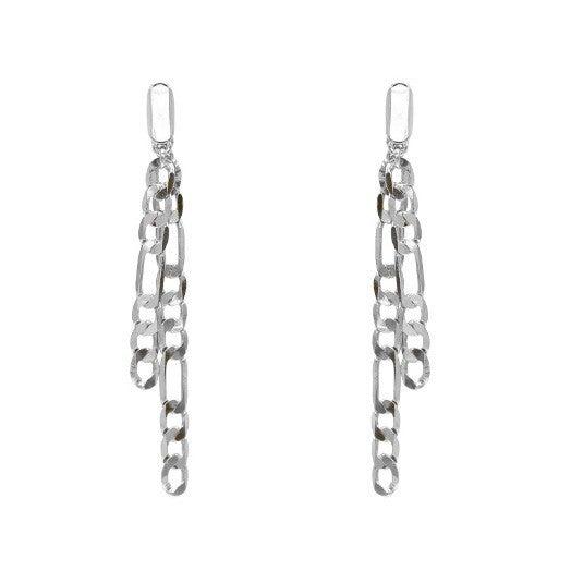 Chain style Dangle Earrings