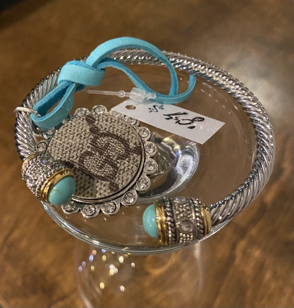 SANDRA LING UPCYCLED GUCCI BRACLET