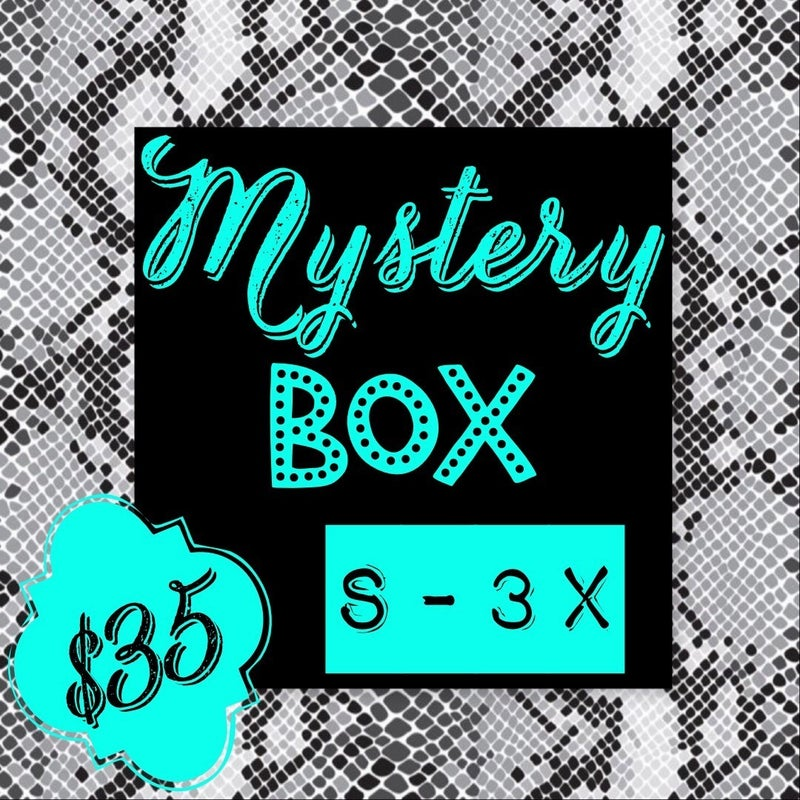 MYSTERY BOX $35 *Final Sale*