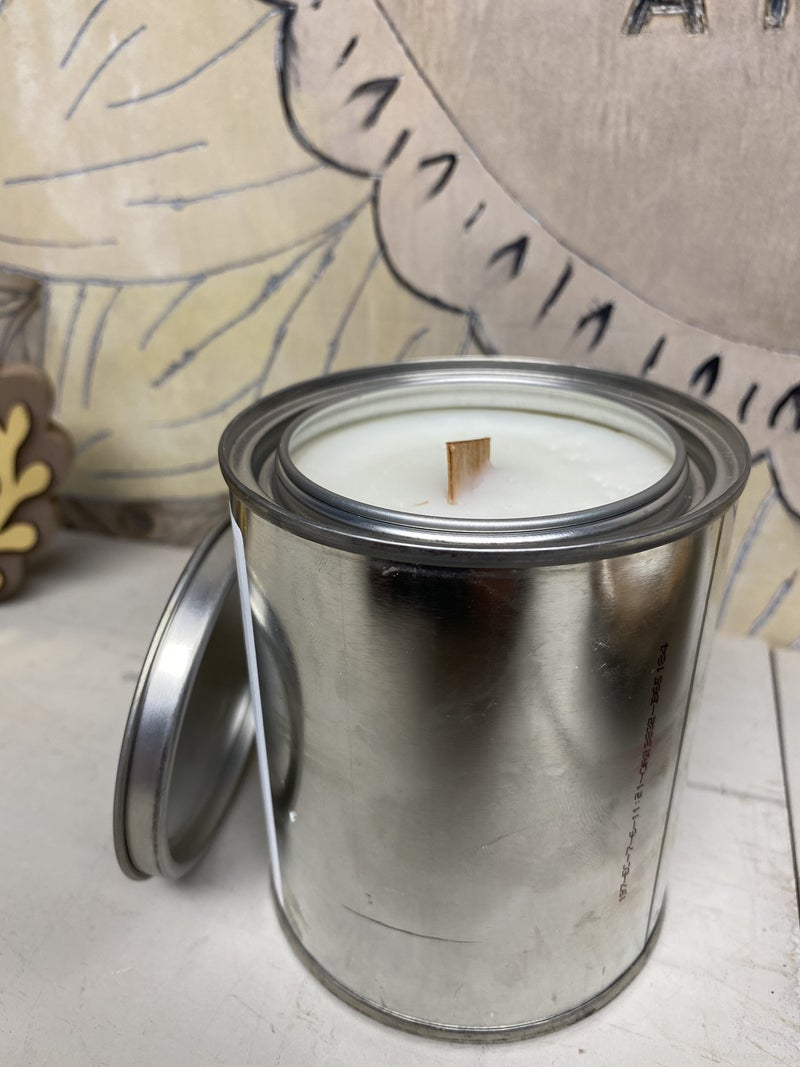 Horse Country wood wick can candle