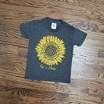 LITTLES RISE AND SHINE SUNFLOWER TEE