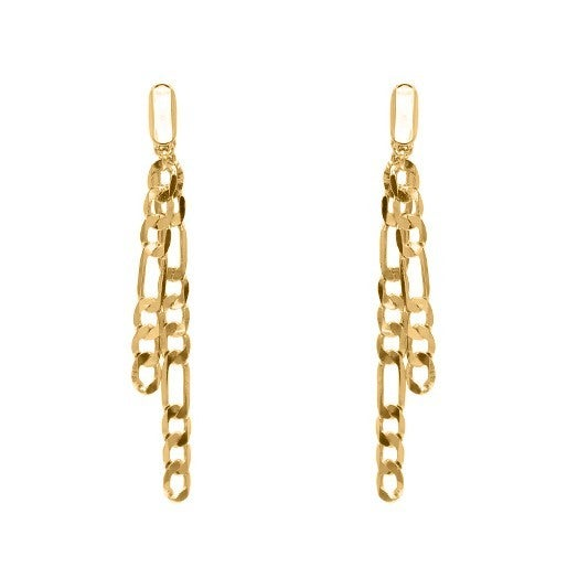Chain style Dangle Earrings