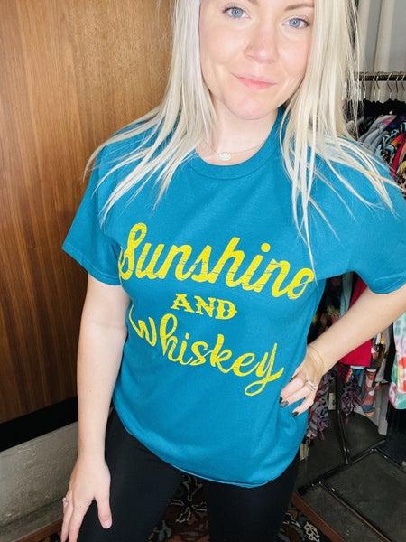 SUNSHINE AND WHISKEY TEE SHIRT
