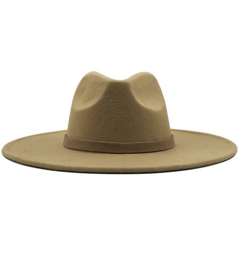 Wide brim dandy trendy panama hat