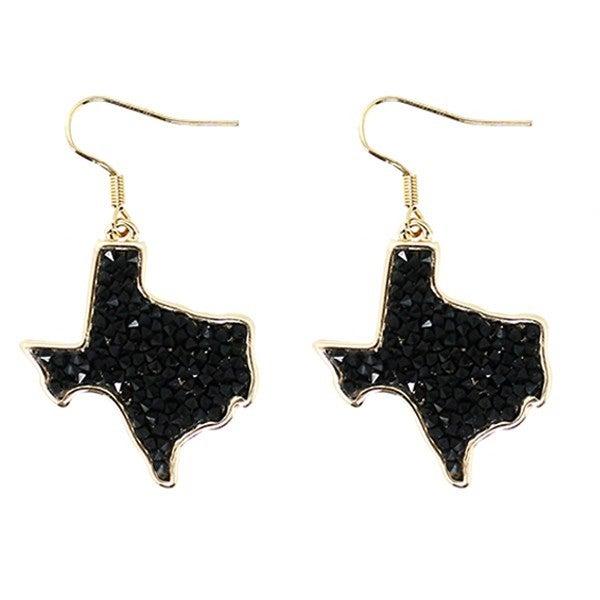 Pressed Diamond Texas Earrings