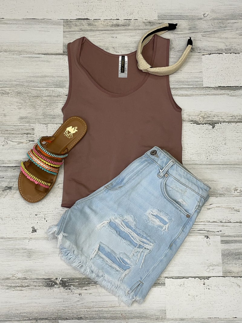 OS Mauve Body Suit