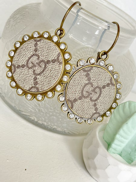 SANDRA LING UPCYCLE GUCCI EARRINGS