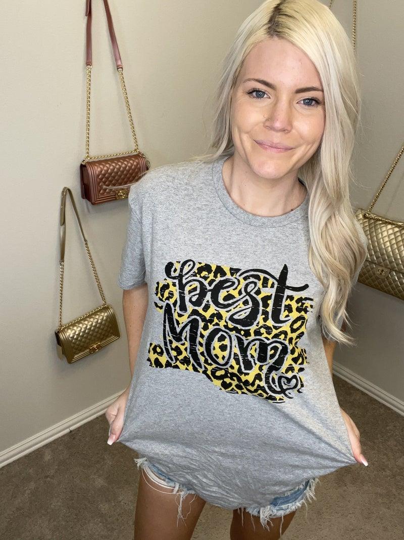 Best Mom Leopard