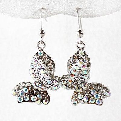 AB 3D Butterfly earring