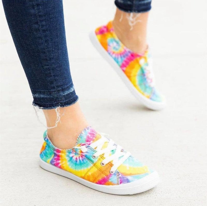 COTTON CANDY TIE DYE FOREVER COMFORT SHOE *Final Sale*