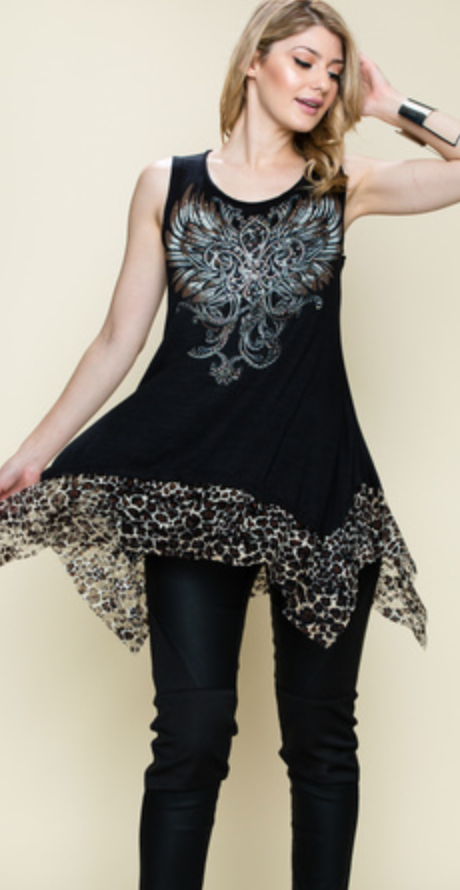Sweet Chariot Top - 2 Colors!