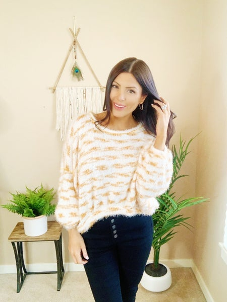Early Bird Cropped Sweater