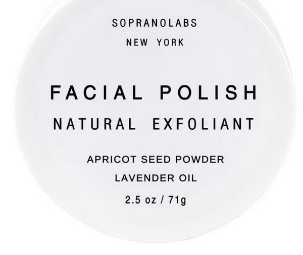 Facial Polish Natural Exfoliant