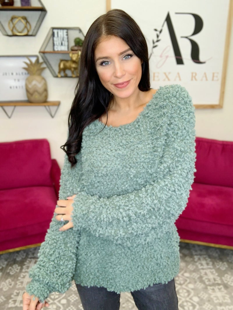 Mint For Greatness Sweater