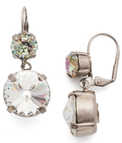 Sorrelli Dominique Drop Crystal Earrings 2 Colors!