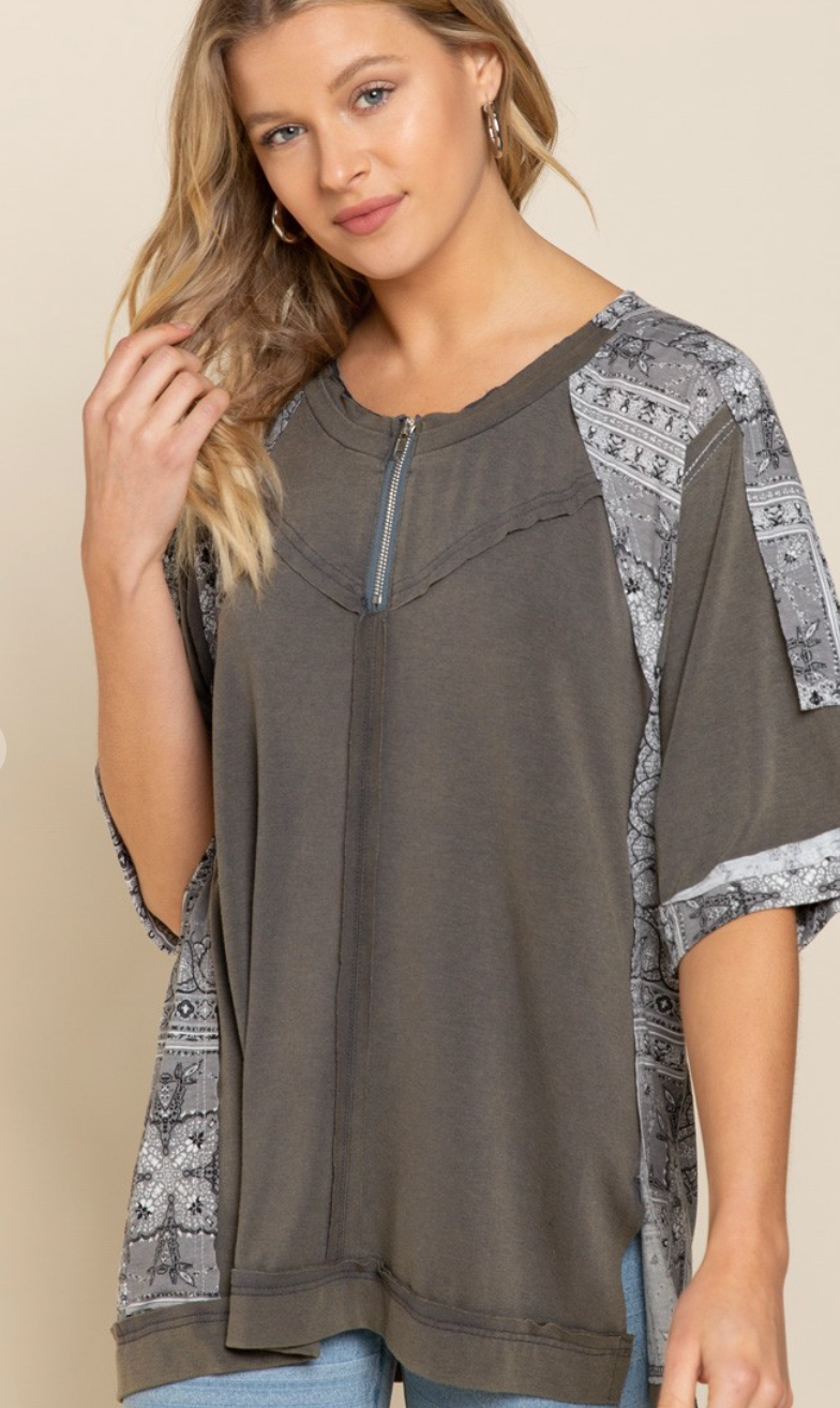 Not So Basic Knit Top -2-colors