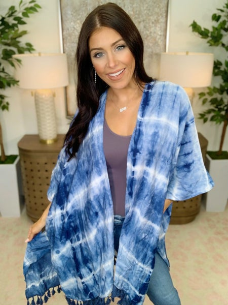 No Hassle With Tassel Cardigan
