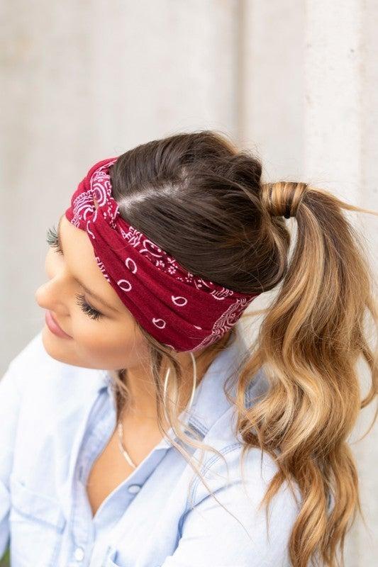 Bandana Twist Headwraps - 9 Colors!