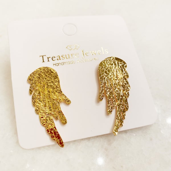 Angel Wing Earrings Treasure Jewels