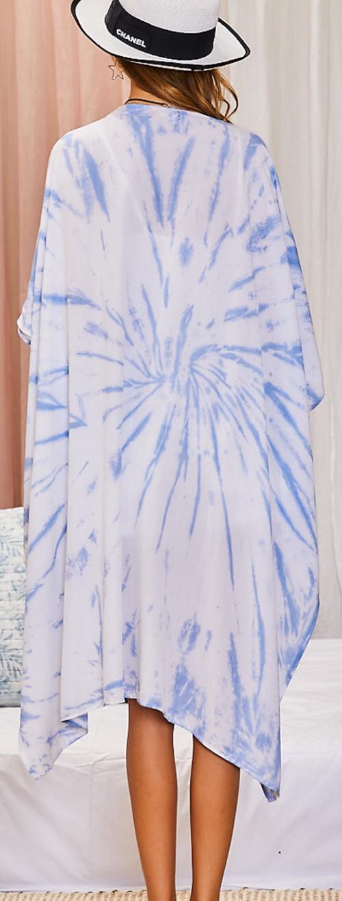 Pick A Side Tie Dye Kimono